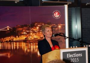 Karin Smyth MP Election night 2015 acceptance speech