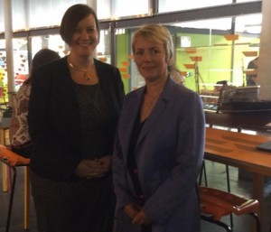Karin Smyth Meg Hillier Bristol Sept 2015